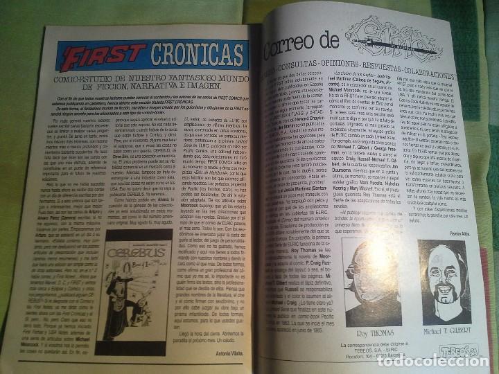Cómics: comic elric de melnibone nº 6 por fin stormbriager año 1988 - michael moorcock´s , first tebeos s.a. - Foto 6 - 206262585