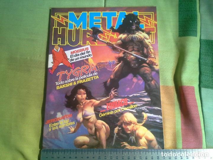COMIC METAL HURLANT Nº 16 EUROCOMIC S.A.TAPA DURA (Tebeos y Comics - Comics otras Editoriales Actuales)