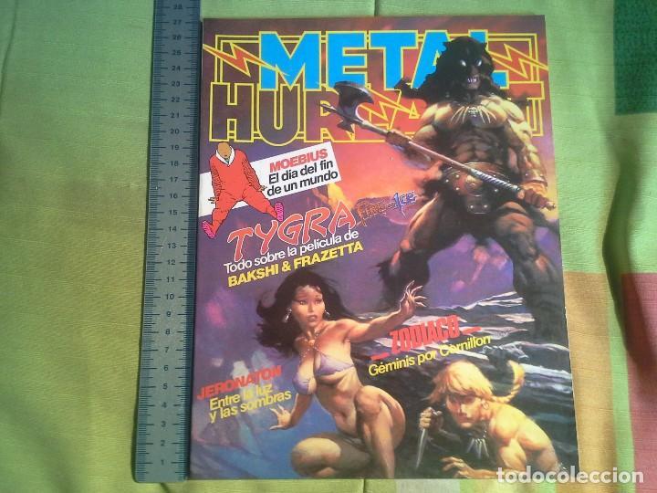 Cómics: comic metal hurlant nº 16 eurocomic s.a.tapa dura - Foto 2 - 206263611