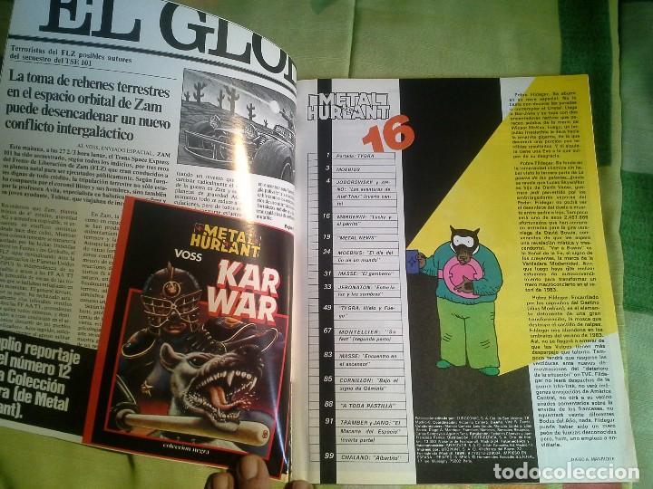 Cómics: comic metal hurlant nº 16 eurocomic s.a.tapa dura - Foto 3 - 206263611