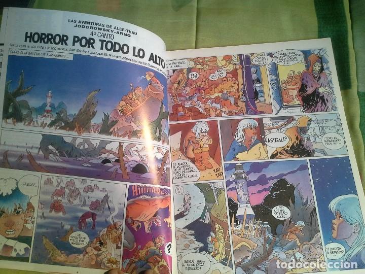 Cómics: comic metal hurlant nº 16 eurocomic s.a.tapa dura - Foto 4 - 206263611