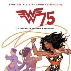 Cómics: 75 AÑOS DE WONDER WOMAN : ALL STAR COMICS (1941-2016) - ECC / DC / NUEVO DE EDITORIAL. Lote 206273035