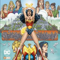 Cómics: WONDER WOMAN : LA MUJER MARAVILLA - ECC / DC / TAPA DURA / GRANDES AUTORES : GEORGE PEREZ. Lote 206302062