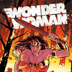 Cómics: WONDER WOMAN : HIERRO - ECC / DC / TAPA DURA / BRIAN AZZARELLO Y CLIFF CHIANG. Lote 206306275