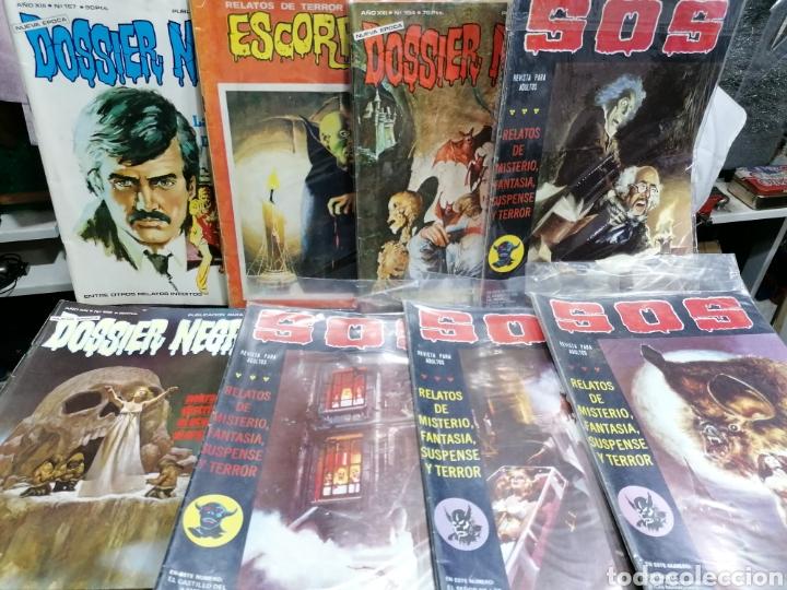 LOTE DE 14 CÓMICS , DOSSIER NEGRO, SOS ENVIO GRATUITO (Tebeos y Comics - Comics Colecciones y Lotes Avanzados)