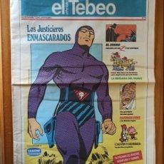Comics : EL TEBEO EL PERIODICO 10 PHANTOM EL HOMBRE ENMASCARADO ZORRO ALFONSO FONT MARVIN.... Lote 206421317