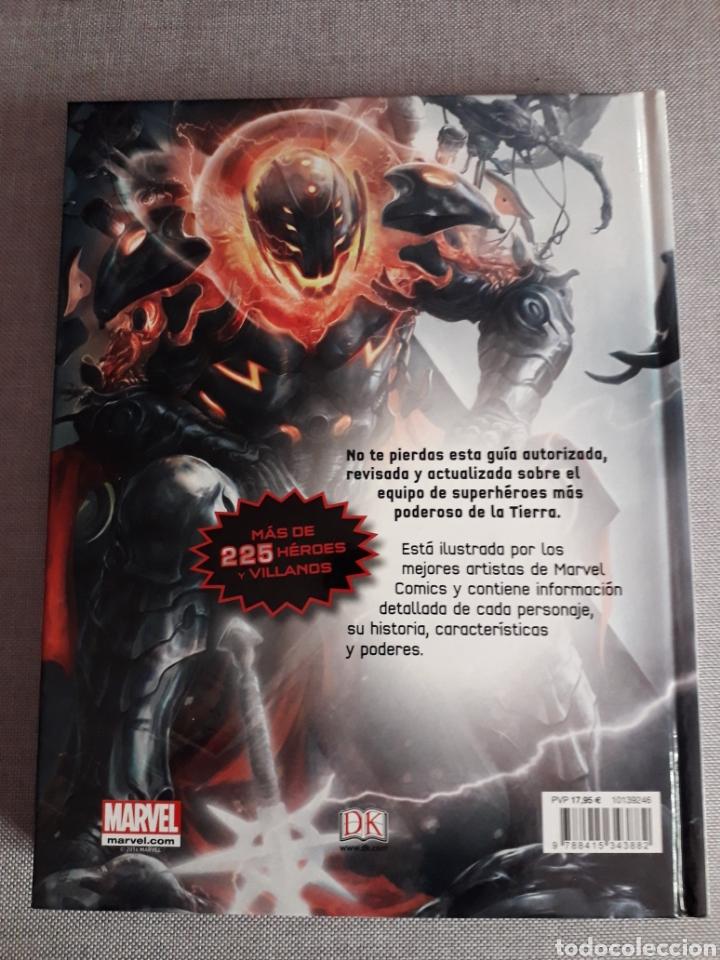 Cómics: Vengadores. Guía de personajes definitiva. 236 pag. Tapa dura - Foto 4 - 206448451