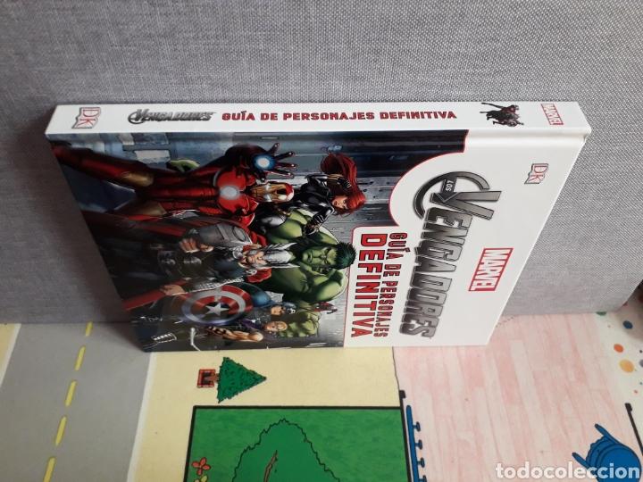 Cómics: Vengadores. Guía de personajes definitiva. 236 pag. Tapa dura - Foto 5 - 206448451