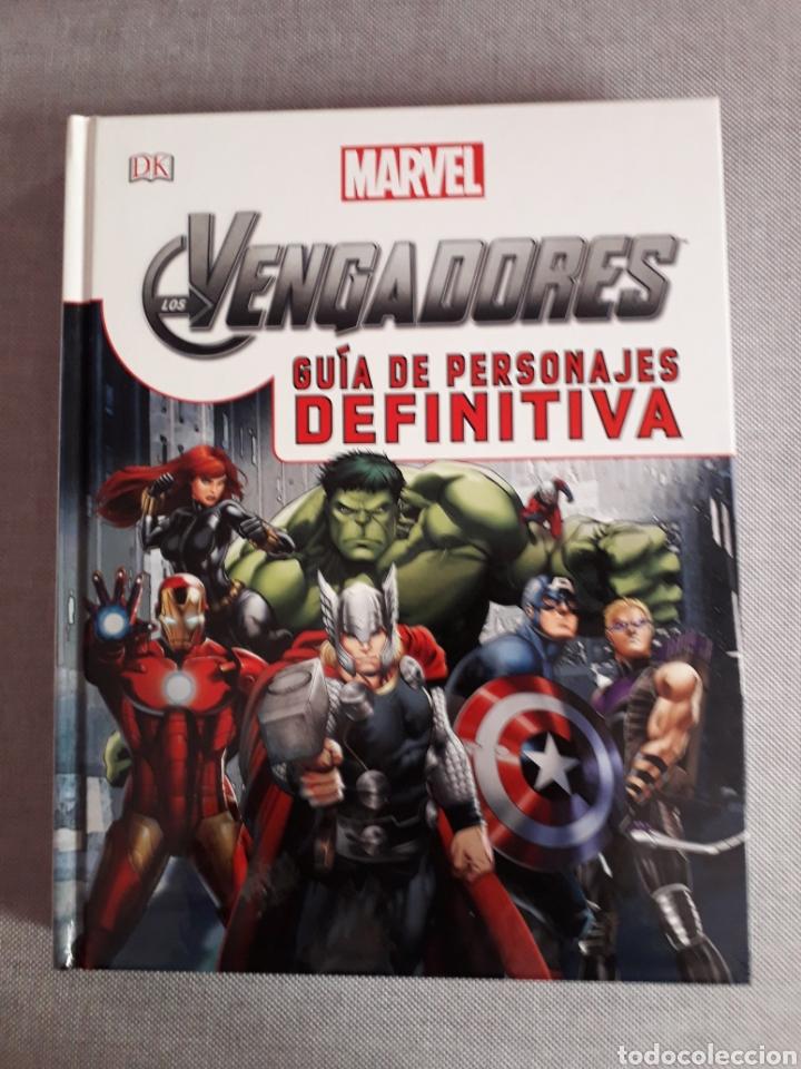 VENGADORES. GUÍA DE PERSONAJES DEFINITIVA. 236 PAG. TAPA DURA (Tebeos y Comics - Comics otras Editoriales Actuales)