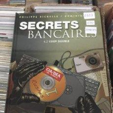 Cómics: GLENAT SECRETS BANCAIRES TOMO 4.2 BUEN ESTADO. Lote 206527256