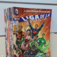 Cómics: LIGA DE LA JUSTICIA NUEVO UNIVERSO DC LOTE Nº 1 AL 20 - ECC OFERTA (ANTES 53,00 EU.). Lote 206750086