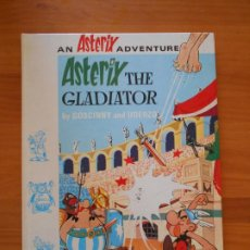Cómics: ASTERIX THE GLADIATOR - AN ASTERIX ADVENTURE - GOSCINNY, UDERZO - EN INGLES - TAPA DURA (CG). Lote 206773840