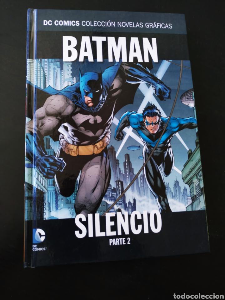 EXCELENTE ESTADO BATMAN SILENCIO PARTE 2 VOLUMEN 2 NOVELAS GRAFICAS DC ECC (Tebeos y Comics - Comics otras Editoriales Actuales)
