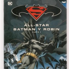 Cómics: BATMAN Y SUPERMAN. NOVELAS GRÁFICAS. ALL-STAR. PARTE 1. DC. (B/A21). Lote 207060308