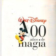 Cómics: 100 AÑOS DE MAGIA. WALT DISNEY. EL PAIS. FASCÍCULO: PRESENTACIÓN DE LA OBRA. PAG. 1 A 12. (B/A21). Lote 207060828