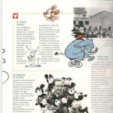Cómics: 100 AÑOS DE MAGIA. WALT DISNEY. EL PAIS. FASCÍCULO: PAG. 13 A 24. (B/A21). Lote 207061083
