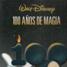 Cómics: 100 AÑOS DE MAGIA. WALT DISNEY. EL PAÍS. TAPAS PARA ENCUADERNACIÓN. (B/A21). Lote 207063010