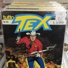 Cómics: TEX NUMERO 16 BUEN ESTADO EN ITALIANO. Lote 207091240