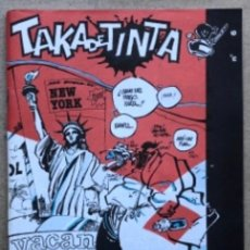 Cómics: TAKA DE TINTA N°6 (BARCELONA, 1986). HISTÓRICO FANZINE ORIGINAL; SEMPERE, PEP, OSCARAIBAR, MAX, JOAN. Lote 140469478