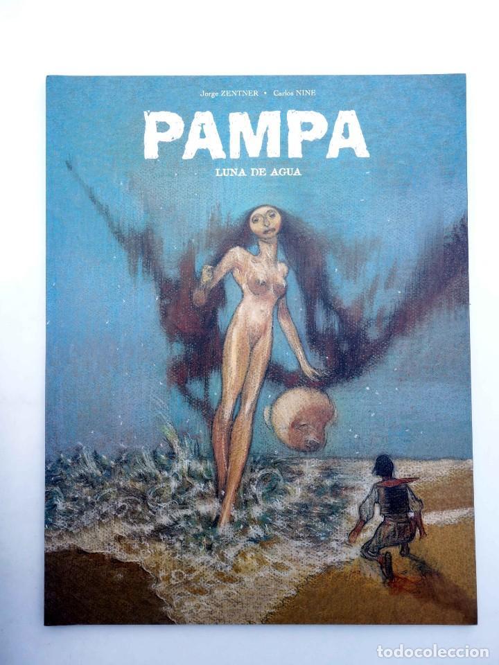 Cómics: PAMPA 3. LUNA DE AGUA (Jorge Zentner / Carlos Nine) Sins entido, 2005. OFRT antes 13,9E - Foto 3 - 207152118