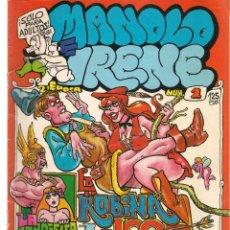 Cómics: MANOLO E IRENE. Nº 1. EDITA: MANUEL FERRER. (P/D48). Lote 207178150