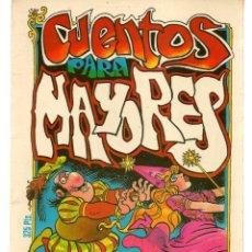 Cómics: CUENTOS PARA MAYORES. MANEL. EDITA MANUEL FERRER. (P/D48). Lote 207178503