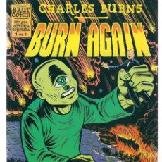 Cómics: BRUT COMIX. HISTORIAS COMPLETAS. Nº 1. CHARLES BURNS / BURN AGAIN. LA CÚPULA. (P/D48). Lote 207179011