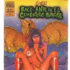 Cómics: BRUT COMIX. HISTORIAS COMPLETAS. Nº 1(ÚNICO).BACK ANAL EN EL CEMENTERIO MUNICIPAL. LA CÚPULA(P/D48). Lote 207180376