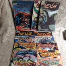 Cómics: NEXUS, LOTE DE 13 EJEMPLARES - EDITA : FIRST COMICS 1987 ( Nº 1 AL 13 ). Lote 207221607