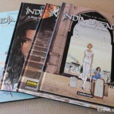 Cómics: INDIA DREAMS 1 2 3 4 – COMPLETA – CASTERMAN / NORMA ED. - 2004 / 2006 - MUY BUEN ESTADO. Lote 107084334