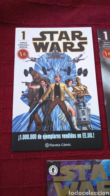 Cómics: STAR WARS ADAPTACIÓN OFICIAL EN COMIC /STAR WARS THE CLONE WARS ACCIÓN EN PRIMER PLANO /PLANETA DEAG - Foto 2 - 207468923