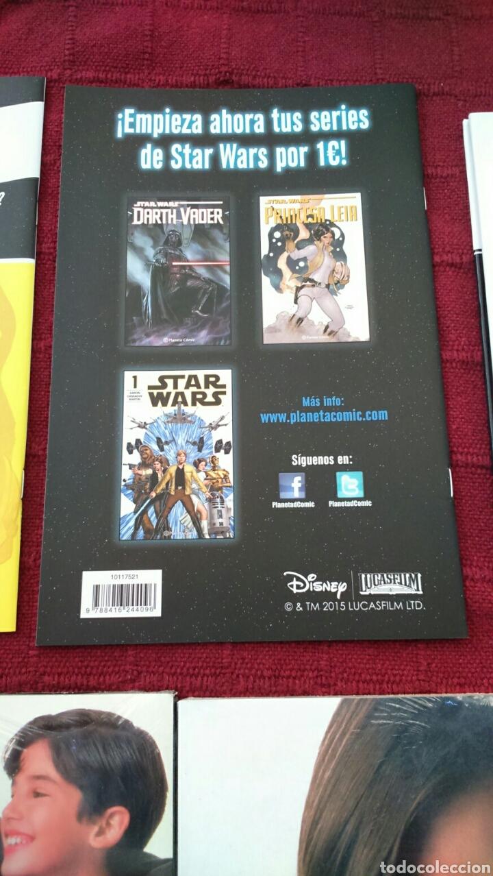 Cómics: STAR WARS ADAPTACIÓN OFICIAL EN COMIC /STAR WARS THE CLONE WARS ACCIÓN EN PRIMER PLANO /PLANETA DEAG - Foto 9 - 207468923