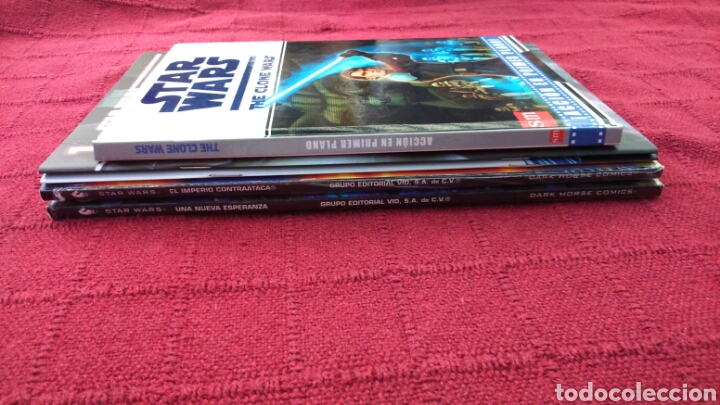 Cómics: STAR WARS ADAPTACIÓN OFICIAL EN COMIC /STAR WARS THE CLONE WARS ACCIÓN EN PRIMER PLANO /PLANETA DEAG - Foto 11 - 207468923