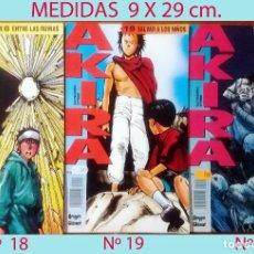 Cómics: AKIRA.KATSUHIRO OTOMO.TRES EJEMPLARES DIFERENTES. NUMEROS 18,19 Y 20.ED. GLENAT Y EDICIONES B.COLOR.. Lote 207661802