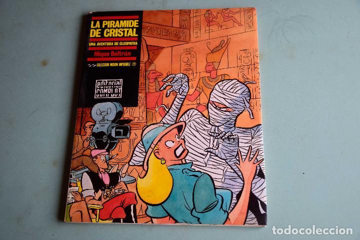 LA PIRAMIDE DE CRISTAL , MIQUE BELTRAN , EDITORIAL COMPLOT (Tebeos y Comics Pendientes de Clasificar)