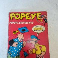 Cómics: POPEYE Nº19. POPEYE, ESTUDIANTE. BURU LAN COMICS.. Lote 207798071
