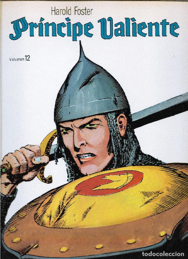 EL PRÍNCIPE VALIENTE. HAROLD FOSTER. 22 VOLÚMENES CONSECUTIVOS DE 48 PÁGINAS. TOTAL 1.056 PÁGINAS. (Tebeos y Comics - Buru-Lan - Principe Valiente)