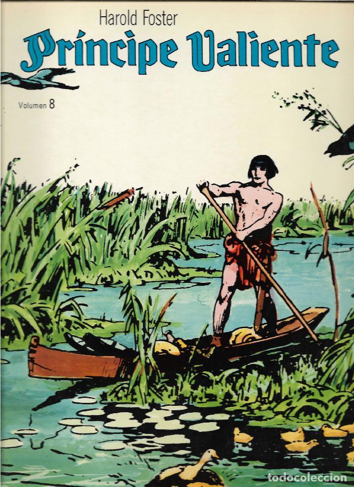 Cómics: EL PRÍNCIPE VALIENTE. HAROLD FOSTER. 22 VOLÚMENES CONSECUTIVOS DE 48 PÁGINAS. TOTAL 1.056 PÁGINAS. - Foto 9 - 207899016