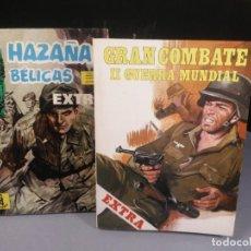 Cómics: GRAN COMBATE EXTRA 6 Y HAZAÑAS BÉLICAS EXTRA TOMO 6 (16 17 Y 18). Lote 207979773