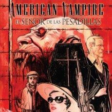 Comics: AMERICAN VAMPIRE : EL SEÑOR DE LAS PESADILLAS - ECC / DC VERTIGO / RUSTICA. Lote 208043652
