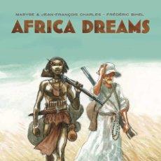 Cómics: AFRICA DREAMS - YERMO / TAPA DURA. Lote 208160535