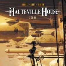 Cómics: HAUTEVILLE HOUSE 1 : ZELDA - YERMO / TAPA DURA. Lote 208161662