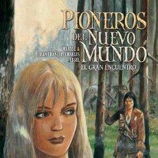 Cómics: PIONEROS DEL NUEVO MUNDO 5 : EL GRAN ENCUENTRO - YERMO / TAPA DURA. Lote 293828568