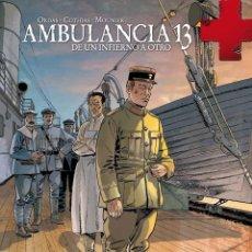 Cómics: AMBULANCIA 13 4 : DE UN INFIERNO A OTRO - YERMO / TAPA DURA. Lote 208227673
