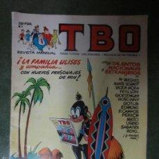 Cómics: TBO - NUMERO 1. Lote 208325442