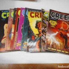 Cómics: VV.AA CREEPY ( 10 TOMOS) Q1175W. Lote 208368088