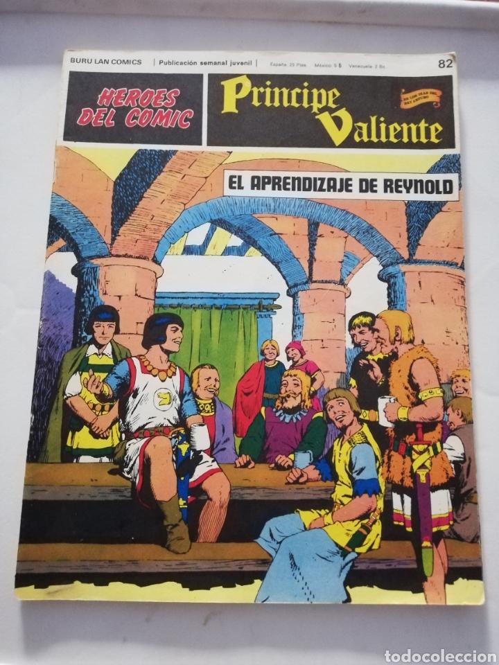 EL APRENDIZAJE DE REYNOLD Nº 82 - HÉROES DEL CÓMIC PRÍNCIPE VALIENTE BURU LAN CÓMICS 1973 (Tebeos y Comics - Buru-Lan - Principe Valiente)