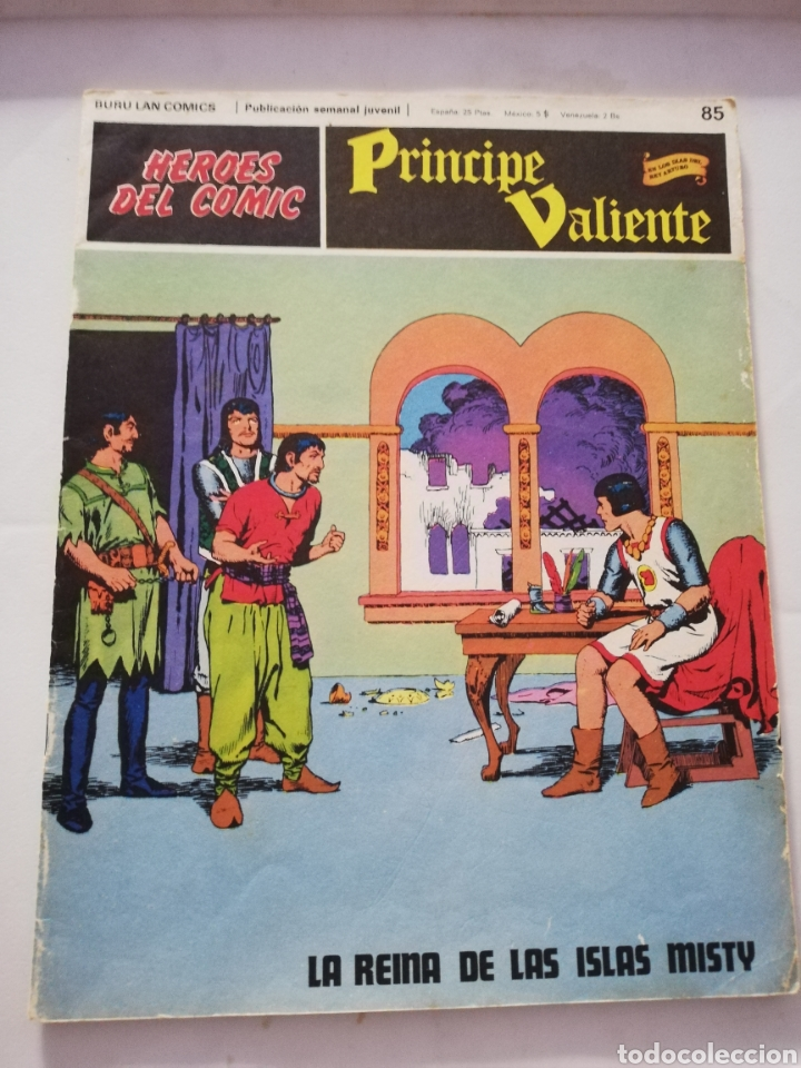 LA REINA DE LAS ISLAS MISTY Nº 85 - HÉROES DEL CÓMIC PRÍNCIPE VALIENTE BURU LAN CÓMICS 1973 (Tebeos y Comics - Buru-Lan - Principe Valiente)
