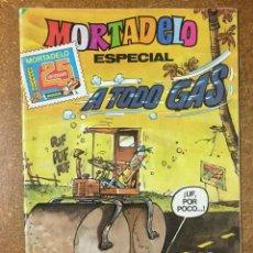 Fumetti: MORTADELO ESPECIAL Nº 167. A TODO GAS. Lote 208380888