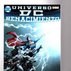 Cómics: UNIVERSO DC : RENACIMIENTO - ECC / DC / RUSTICA. Lote 208382141